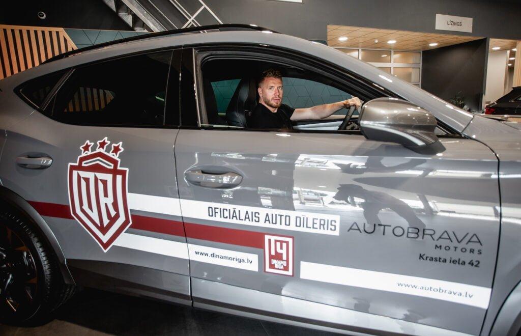 Dinamo Rīga un Autobrava - Jaunie sadarbības partneri